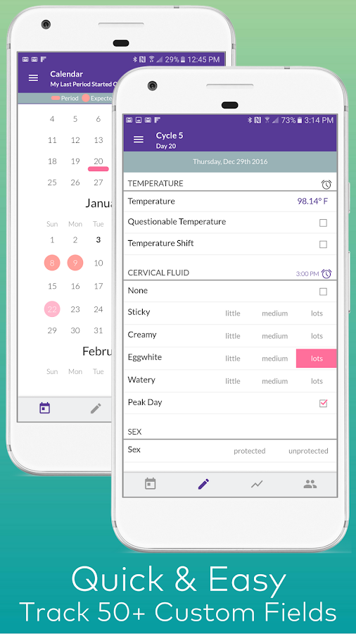 Kindara Fertility & Ovulation- screenshot