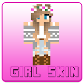 Girl Skin For Minecraft PE