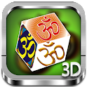 OM 3D cube live wallpaper icon