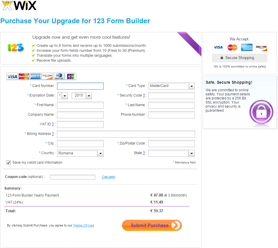 how to delete an ap on wix
