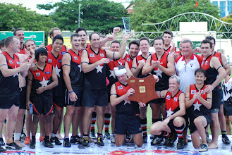 Photo: The victorious Jakarta Bintangs. Photo, Trent Mears and Ross McRae.