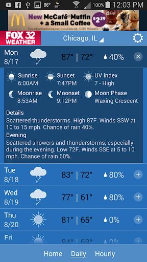 FOX 32 Weather  screenshots 3