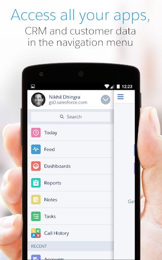 Salesforce1 Screenshot