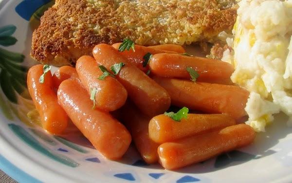 Dijon Glazed Carrots Recipe