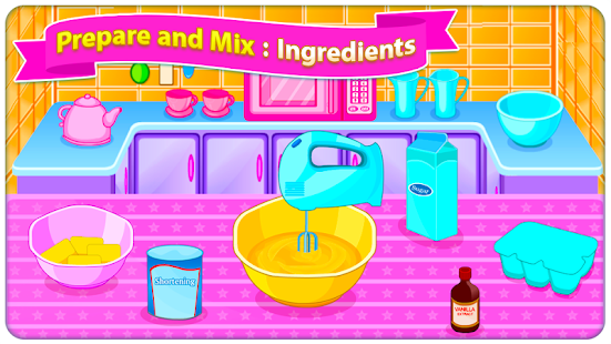 Game Baking Sweet Cookies - Cooking Game APK for Windows Phone