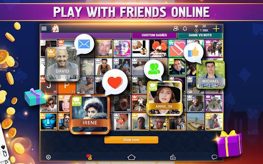 VIP Belote - French Belote Online Multiplayer android2mod screenshots 13