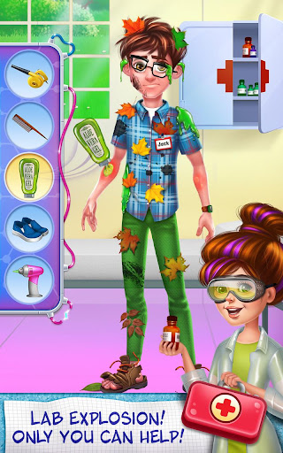 Science Girl - Lab Super Star Screenshot