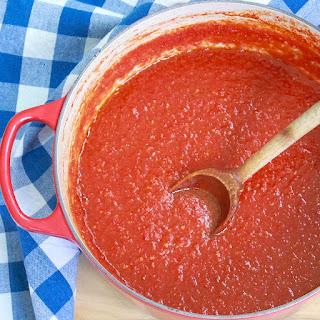 Shortcut Blender Tomato Sauce.