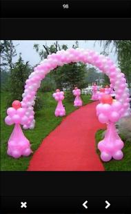 ballon dekorace - náhled