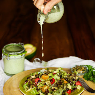 Cilantro-Jalapeno Ranch Dressing