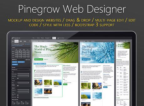 Pinegrow Web Designer
