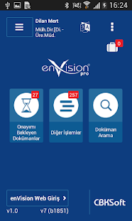 enVision Mobile Pro - náhled