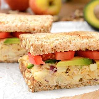 Apple-Walnut Chickpea Salad Sandwich (GF) Recipe