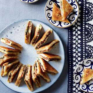 Prosciutto, Watercress, and Fontina Toasties