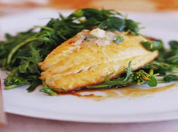 Pan Seared Tilapia With Chile-lime Compound Butter Recipe