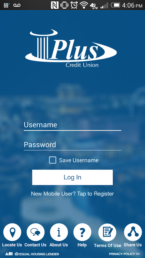 Plus Credit Union- screenshot