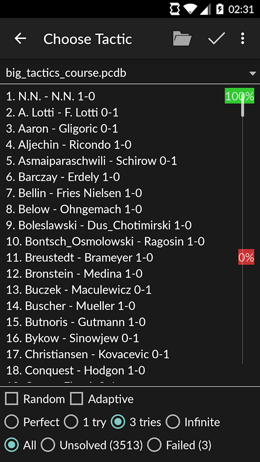 Perfect Chess Trainer- screenshot