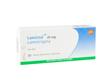 Lamictal 25Mg Tabletas   Caja x30Tab. GSK Lamotrigina