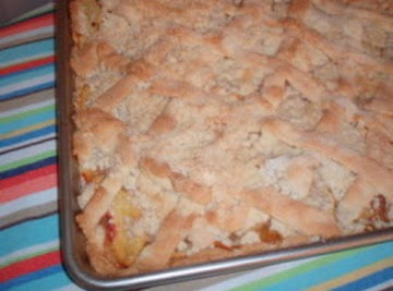 Bake And Take Peach Coffee Cake Recipe