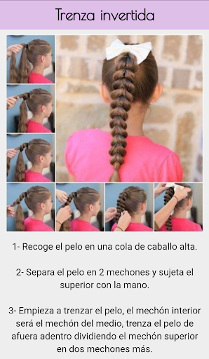 Hairstyles for girls 1.0 screenshots 2
