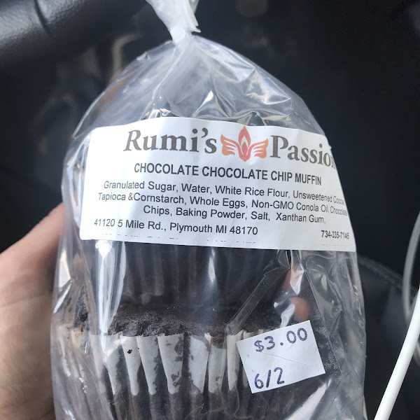 Yum! And $2.00 less buying them directly from Rumi's than getting them from Simply Fresh Market in Brighton