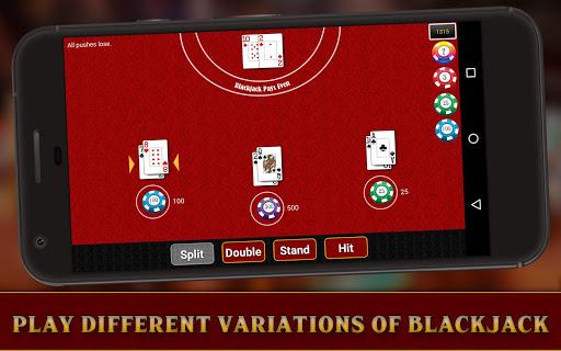Casino Blackjack (5 Games)-21 1.0 Mod screenshots 3