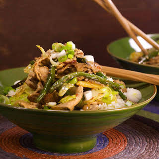 5-Spice Pork Stir-Fry.