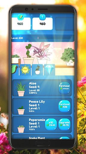 Code Triche Plant Paradise: Idle Garden mod apk screenshots 3