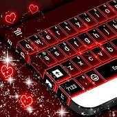 Neon Red Skin for Keyboard
