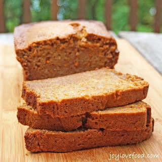Sweet Potato Zucchini Bread.