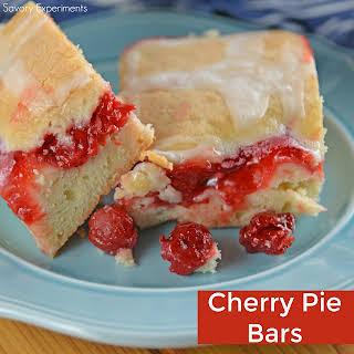 Cherry Pie Bars.