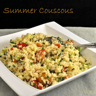 Summer Couscous.