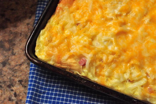 Easy Cheesy Brunch Casserole Recipe