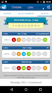 Irish Lottery Results (Lotto Ireland)- screenshot thumbnail