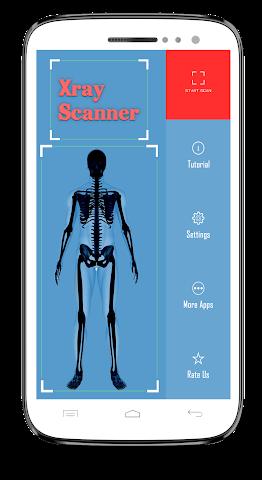 android Xray Scanner Prank Screenshot 1
