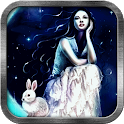 Moon Rabbit Live Wallpaper icon