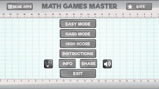 Math Games Master - náhled
