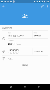 SwimWiz Fitness Log- screenshot thumbnail