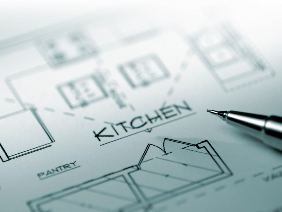 Ilustrasi denah dapur - source: hgtv.com