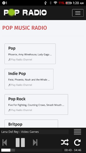 Pop Music Radio