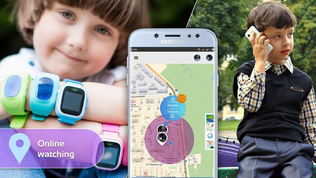 Step By Step: Gps watch, child`s phone tracker