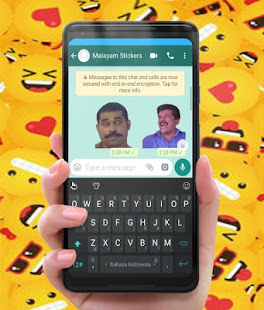 Funny Malayam Stickers for Wastickerapps - náhled