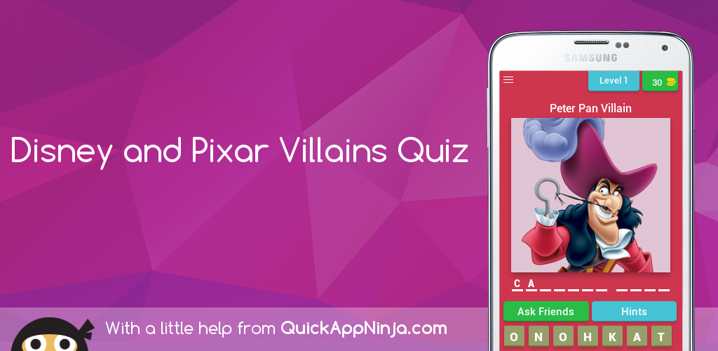 Download Disney and Pixar Villains Quiz APK latest version