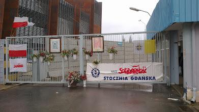 Photo: Brama do Stoczni Gdańskiej
