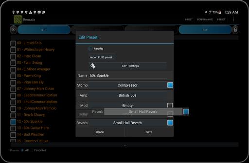 Remuda Lite - USB Guitar Amplifier Control App 1.8.4-lite screenshots 10
