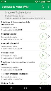 Consulta de Notas- screenshot thumbnail