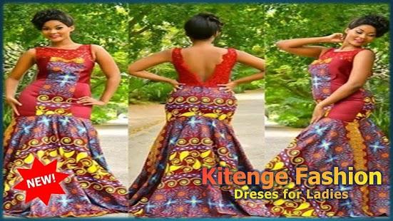 Kitenge Fashion Dreses for Ladies - náhled