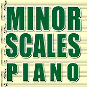 Piano Minor Scales
