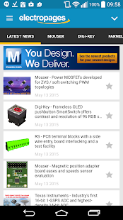Electronics News- screenshot thumbnail