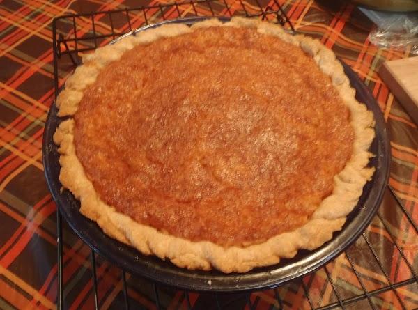 Bea's Coconut Custard Pie Recipe